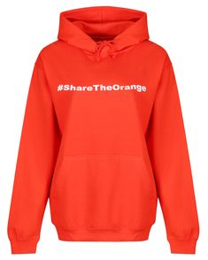Make a punchy statement in this loose-fitting #ShareTheOrange hoodie in support of Alzheimer's Research UK.  The front pocket, warm fleece-lined inner and toggles on the hood, make this orange hoodie a comfortable and cosy addition to any workout wardrobe. Partner this hoodie with a pair of zesty orange leggings from our Alzheimer's Research UK collection to support a charity. Orange Leggings, Hoodies, Sweatshirts, Cosy, Charity, Warm, Pocket, Workout, How To Make