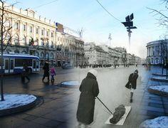 sergei larenkov shoots photos of now, overlaps them with then.