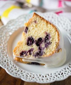 Buttermilk Blueberry Bundt Cake Abc