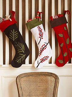 Christmas Crafts at WomansDay.com - Christmas Stocking Ideas at WomansDay.com - Woman's Day