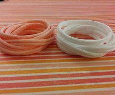 In this Instructable I will show you how to make Stretchy Hair Ties out of Tights. I wanted to make my own Stretchy Hair Ties because I like to wear them on my wrist when they are not in my hair. Most hair ties are not very comfortable on your wrist because of the metal clasps or line of glue holding the ties together are scratchy. Also, hair ties are usually too small to be comfortable on an adult wrist.You can customize them by adjusting the strip width, adding patterns with permanent…