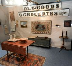 Axtell Antiques, Deposit, N.Y. at the York Antiques Show & Sale