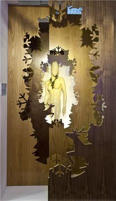 creative with ply,pinned by Ton van der Veer