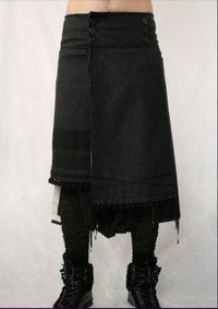 PANELED SKIRT AND LEGGINS by TOM #REBL — MENS CLOTHES ONLINE