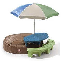 """Step2 Summertime Playcenter -  Step 2 - Toys""""R""""Us Sandbox and picnic table  $130"""
