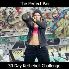 I'm starting the new year with the 30 Day Kettlebell Challenge.  It's only 2 exercises that uses over 600 muscles in only 10 - 20 minutes - who wants to join me???