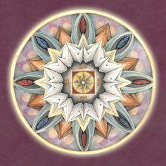 Mandala Art Painting - Honor Mandala by Jo Thomas Blaine