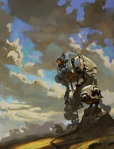 mech by on DeviantArt Arte Alien, Arte Robot, Character Concept, Character Design, Arte Cyberpunk, Robot Concept Art, Robot Design, Cg Art, Science Fiction Art