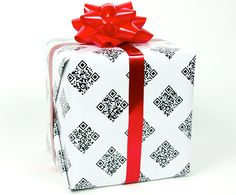 Geek gift wrap with video surprises.