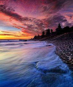 Echo beach Bali waves by herry suwondo, via 500px