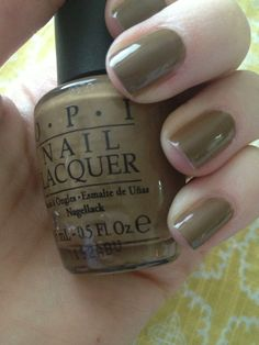 4 easy steps to a lasting manicure {pictured: OPI A-Taupe the Space Needle} | thisheartneeds.wordpress.com Manicure Pictures, To Spoil, Some Times, Opi, Pedicure, Acrylic Nails, Taupe, Wordpress, Nail Polish