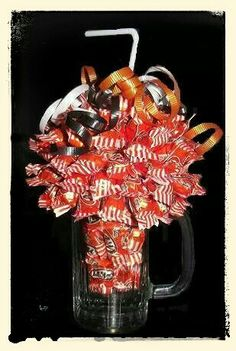 A&W Float Halloween Mug Candy Bouquet