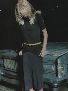 "Vogue UK 1990's""Yellow Fever"" Photographer: Craig McDeanStylist: Kate Phelan"