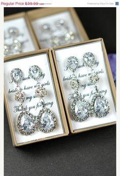 20OFF Wedding Jewelry Bridesmaid Gift by thefabbridaljewelry, $31.99 #frugalbride #bridaljewelry
