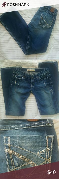 Buckle BKE Stella Boot Stretch Jeans Buckle BKE Stella Boot jeans. Like new condition. Has some stretch.  28X31.5 BKE Jeans Boot Cut