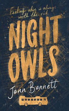 Night Owls by Jenn Bennett; design by Leo Nickolls (Simon & Schuster / September 2015)