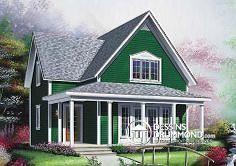 Plan de maison no. W4594 de dessinsdrummond.com