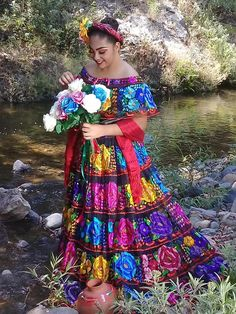 Mexican Inspired Dress, Mexican Style Dresses, Quince Dresses, 15 Dresses, Mexican Costume, Mexican Party, Charro Quinceanera Dresses, Local Women, Terani Couture