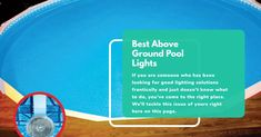 Best Above Ground Pool Lights 2020 (Reviews And Buying Guide) Rectangle Above Ground Pool, Semi Above Ground Pool, Above Ground Pool Lights, Intex Above Ground Pools, Above Ground Swimming Pools, In Ground Pools, Inground Pool Lights, Semi Inground Pools, Swimming Pool Lights