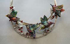 Lampwork and sterling jewellery by Irina Sergeeva