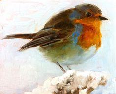 Winter Sinking Strokes: Pretty fine, thank you. Bird Painting Acrylic, Watercolor Bird, Watercolor Paintings, Easy Paintings, Animal Paintings, Bird Paintings, Guache, Pastel Art, Bird Art