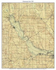 17 best New York Finger Lakes Old Maps NY images on Pinterest | Map ...