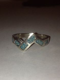 Your place to buy and sell all things handmade Navajo Jewelry, Tribal Jewelry, Turquoise Cuff, Turquoise Jewelry, Black Friday Specials, Southwestern Jewelry, Etsy Vintage, Sterling Silver Rings, White Gold
