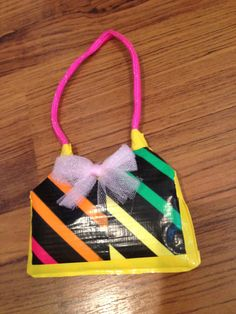 """What doll does'nt need a duct tape purse for all her """"stuff""""."""