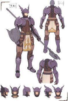 #Dragoon concept armor from #FinalFantasyXI.