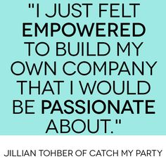 HANGING OUT WITH JILLIAN OF CATCH MY PARTY