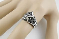 SOLD  Owl Ring Brand New Size 7.5. Starting at $5