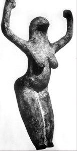 Birdhead Goddess, Africa circa 4000 BCE