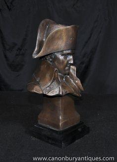 Photo of Bronze Bust Napoleon Bonaparte French Emperor Casting Figurine