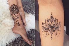 10 inspirações para quem quer fazer uma tatuagem estilo mandala | COSMOPOLITAN