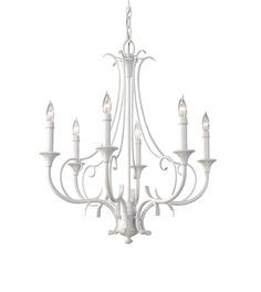A white chandelier like this one can add a touch of soft elegance that takes your bedroom in a dreamy direction! Visit us in Charleston, SC to see this and more beautiful lighting that will help you create your dream bedroom. We offer clearance pricing on stylish lighting every day!