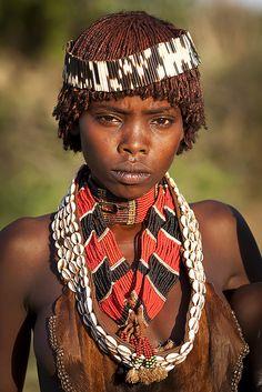 Hamar girl - Ethiopia