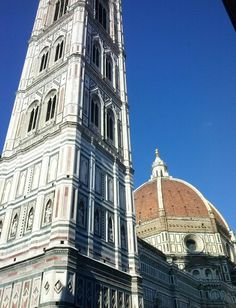 Campanile di Giotto, Cupola del Brunelleschi, Firenze