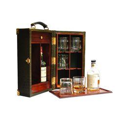hemingway koffer bar mit separatem tablett pinterest drinks cabinet bar drinks tray. Black Bedroom Furniture Sets. Home Design Ideas