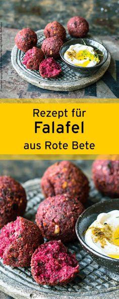 Mediterranes Rezept für selbstgemachte Rote-Bete-Falafel.⎜GU