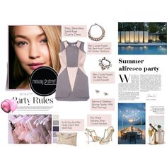 #R2SStyle Summer Style with Runway2Street by minojka on Polyvore featuring TheP., Emy Mack, Toi Et Moi, Ellen Conde, Bernard Delettrez, party, alfresco and runway2street