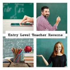 Entry level teacher resume that gets you the results you want. Resume Software, Job Resume Samples, Manager Resume, Preschool Teacher Resume, Teaching Resume, Teaching Jobs, Best Resume, Resume Tips, Teacher Interviews