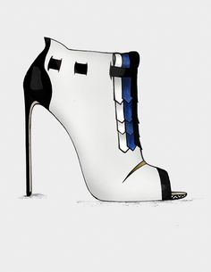 ● The Black & Blue - Collection  http://www.guillaumebergen.com/accueil  #Black #Blue #Klein #Sketch #Mode #Illustration #FashionDraw #FashionIllustration #Design #Stylisme #Stylism #Shoes #Pump #ShoesDesigner #Heels #Heel #ShoesDraw #Bootie #Satin #PeepToe #Plexi #Sandal #Leathers #Patent #Stiletto #Graphisme #Graphic #Style #Street #StreetStyle #Gold #GoldHeels #Grey #CapToe #Strap #Bootie #Sandal #Gold #AnkleBoot #Velvet