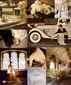 old hollywood wedding style<3