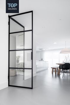 Minimalist Home Interior, Home Interior Design, Concrete Floors In House, Minimal Home, Living Room Bedroom, Living Room Designs, Building A House, New Homes, House Design