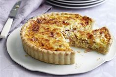 Mary Berry's Quiche Lorraine recipe