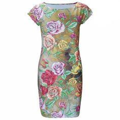 Casual Print Mini Dress