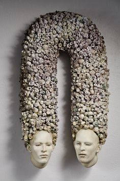 Ceramic sculptures by the very talented Christina Cordova