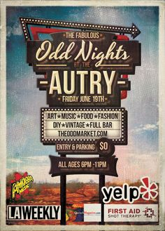 6/19/15  Odd Nights at the Autry-The Odd Market