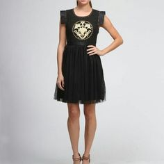 COMING SOON  Dress by Moon Collection Intricate Black Dress by Moon Collection. Only one size run available. Comment to reserve. Moon Collection Dresses Mini