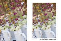 Jarras de cerveza con flores by SOLO UN INSTANTE - Photography
